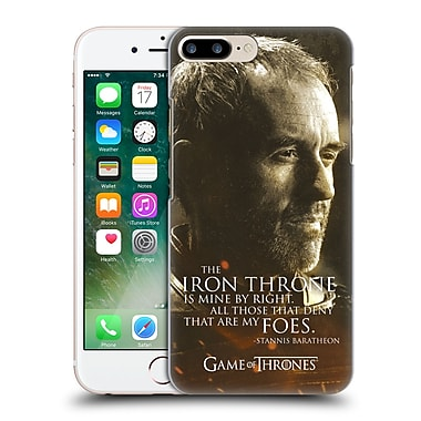 Official Hbo Game Of Thrones Character Portraits Stannis Baratheon Hard Back Case For Apple Iphone 7 Plus