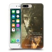 Official Hbo Game Of Thrones Character Portraits Tyrion Lannister Hard Back Case For Apple Iphone 7 Plus