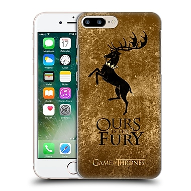 Official Hbo Game Of Thrones Dark Distressed Sigils Baratheon Hard Back Case For Apple Iphone 7 Plus