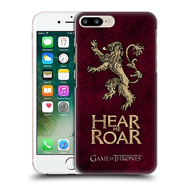Official Hbo Game Of Thrones Dark Distressed Sigils Lannister Hard Back Case For Apple Iphone 7 Plus