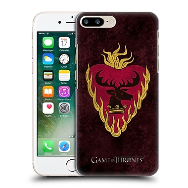 Official Hbo Game Of Thrones Dark Distressed Sigils Stannis Hard Back Case For Apple Iphone 7 Plus