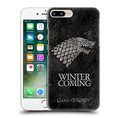 Official Hbo Game Of Thrones Dark Distressed Sigils Stark Hard Back Case For Apple Iphone 7 Plus
