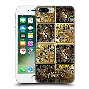 Official Hbo Game Of Thrones Golden Sigils Baratheon Hard Back Case For Apple Iphone 7 Plus