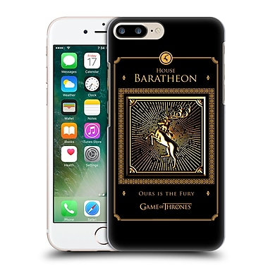 Official Hbo Game Of Thrones Golden Sigils Baratheon Border Hard Back Case For Apple Iphone 7 Plus