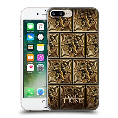 Official Hbo Game Of Thrones Golden Sigils Lannister Hard Back Case For Apple Iphone 7 Plus