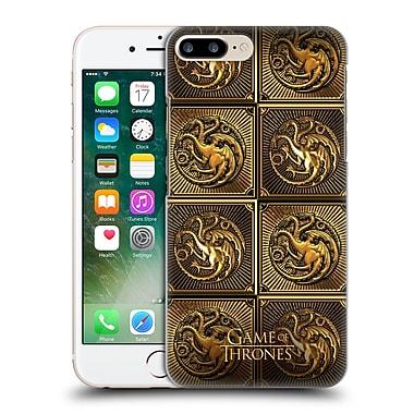 Official Hbo Game Of Thrones Golden Sigils Targaryen Hard Back Case For Apple Iphone 7 Plus