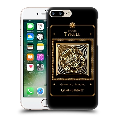 Official Hbo Game Of Thrones Golden Sigils Tyrell Border Hard Back Case For Apple Iphone 7 Plus