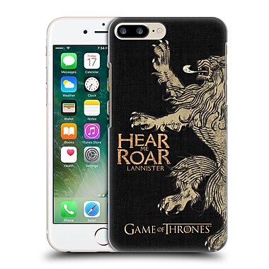 Official Hbo Game Of Thrones House Mottos Lannister Hard Back Case For Apple Iphone 7 Plus