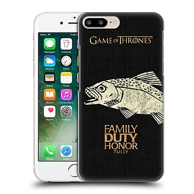 Official Hbo Game Of Thrones House Mottos Tully Hard Back Case For Apple Iphone 7 Plus