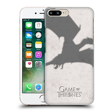 Official Hbo Game Of Thrones Key Art Dragon Hard Back Case For Apple Iphone 7 Plus
