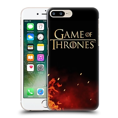 Official Hbo Game Of Thrones Key Art Logo Hard Back Case For Apple Iphone 7 Plus