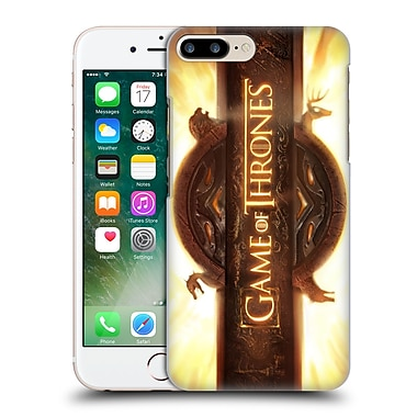 Official Hbo Game Of Thrones Key Art Opening Sequence Hard Back Case For Apple Iphone 7 Plus