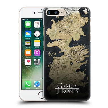 Official Hbo Game Of Thrones Key Art Westeros Map Hard Back Case For Apple Iphone 7 Plus