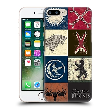Official Hbo Game Of Thrones Battle Of The Bastards House Sigils Hard Back Case For Apple Iphone 7 Plus
