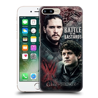 Official Hbo Game Of Thrones Battle Of The Bastards Jon Versus Ramsay Hard Back Case For Apple Iphone 7 Plus