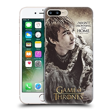 Official Hbo Game Of Thrones Character Quotes Bran Stark Hard Back Case For Apple Iphone 7 Plus