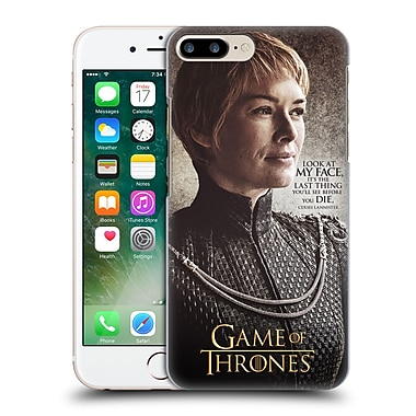 Official Hbo Game Of Thrones Character Quotes Cersei Lannister Hard Back Case For Apple Iphone 7 Plus