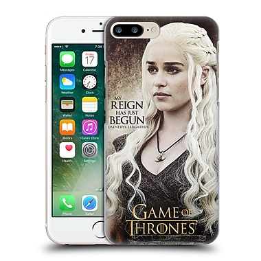 Official Hbo Game Of Thrones Character Quotes Daenerys Targaryen Hard Back Case For Apple Iphone 7 Plus