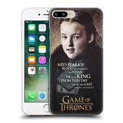 Official Hbo Game Of Thrones Character Quotes Lyanna Mormont Hard Back Case For Apple Iphone 7 Plus