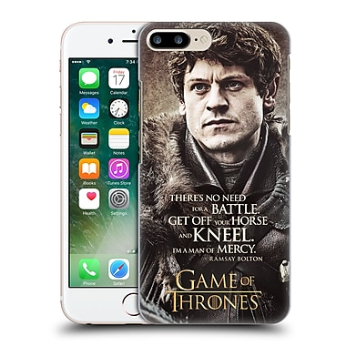 Official Hbo Game Of Thrones Character Quotes Ramsay Bolton Hard Back Case For Apple Iphone 7 Plus
