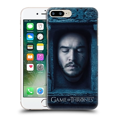 Official Hbo Game Of Thrones Faces Jon Snow Hard Back Case For Apple Iphone 7 Plus
