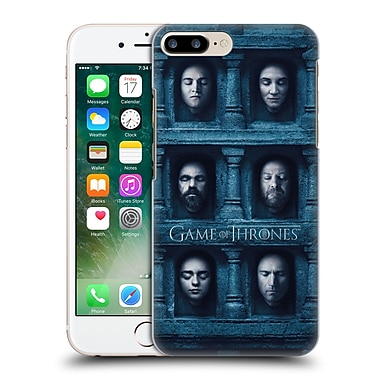 Official Hbo Game Of Thrones Faces 2 Six Heads Hard Back Case For Apple Iphone 7 Plus