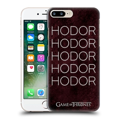 Official Hbo Game Of Thrones Hodor Hold The Door 1 Hard Back Case For Apple Iphone 7 Plus
