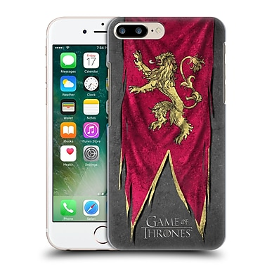 Official Hbo Game Of Thrones Sigil Flags Lannister Hard Back Case For Apple Iphone 7 Plus