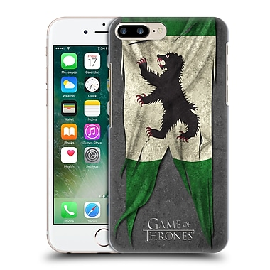 Official Hbo Game Of Thrones Sigil Flags Mormont Hard Back Case For Apple Iphone 7 Plus