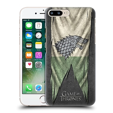Official Hbo Game Of Thrones Sigil Flags Stark Hard Back Case For Apple Iphone 7 Plus