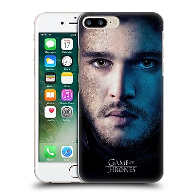Official Hbo Game Of Thrones Valar Morghulis Jon Snow Hard Back Case For Apple Iphone 7 Plus