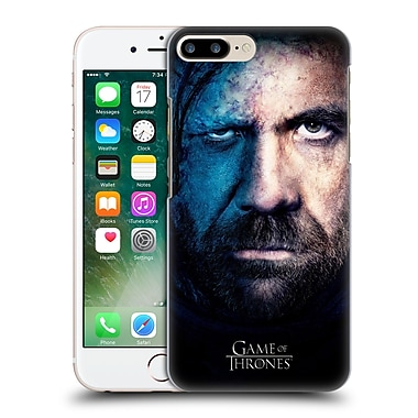 Official Hbo Game Of Thrones Valar Morghulis Sandor Clegane Hard Back Case For Apple Iphone 7 Plus