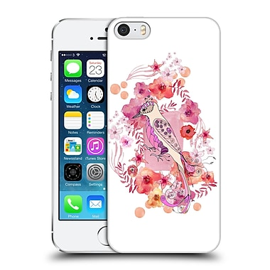Official Monika Strigel Animals And Flowers Bird Hard Back Case For Apple Iphone 5 / 5S / Se
