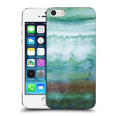 Official Monika Strigel Agate Gemstone Mint Hard Back Case For Apple Iphone 5 / 5S / Se