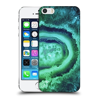 Official Monika Strigel Amethyst Emerald Hard Back Case For Apple Iphone 5 / 5S / Se