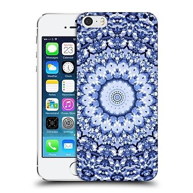 Official Monika Strigel Arabesque Indigo Hard Back Case For Apple Iphone 5 / 5S / Se