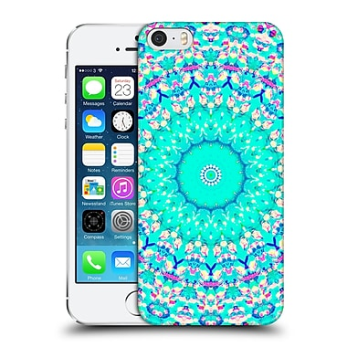 Official Monika Strigel Arabesque Mint Hard Back Case For Apple Iphone 5 / 5S / Se