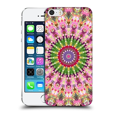 Official Monika Strigel Arabesque Peach Hard Back Case For Apple Iphone 5 / 5S / Se
