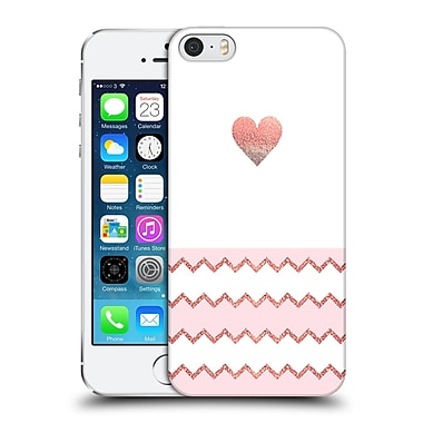 Official Monika Strigel Avalon Heart Coral Hard Back Case For Apple Iphone 5 / 5S / Se