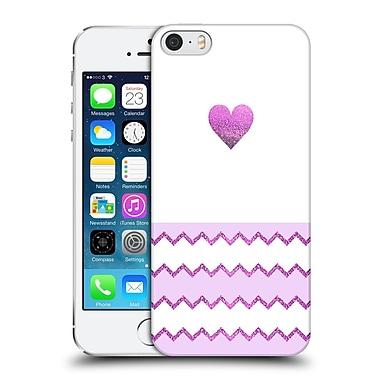 Official Monika Strigel Avalon Heart Purple Hard Back Case For Apple Iphone 5 / 5S / Se