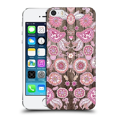 Official Monika Strigel Bring Me Flowers 3 Pink Hard Back Case For Apple Iphone 5 / 5S / Se