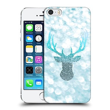 Official Monika Strigel Champagne Glitters 1 Deer Aqua Hard Back Case For Apple Iphone 5 / 5S / Se