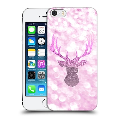 Official Monika Strigel Champagne Glitters 1 Deer Pink Hard Back Case For Apple Iphone 5 / 5S / Se