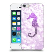 Official Monika Strigel Champagne Glitters 2 Seahorse Purple Hard Back Case For Apple Iphone 5 / 5S / Se