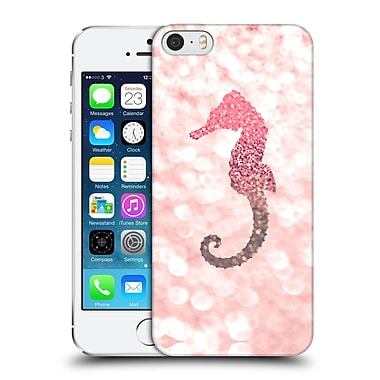 Official Monika Strigel Champagne Glitters 2 Seahorse Rose Hard Back Case For Apple Iphone 5 / 5S / Se