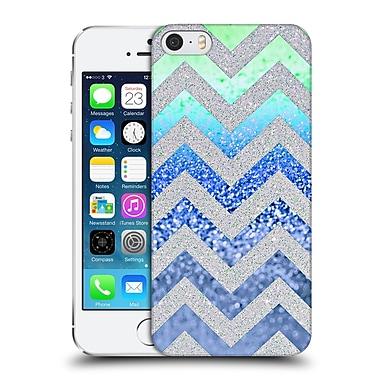 Official Monika Strigel Funky Chevron Blueberry Hard Back Case For Apple Iphone 5 / 5S / Se