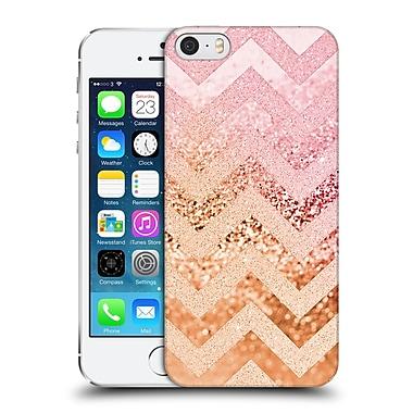 Official Monika Strigel Funky Chevron Strawberry Hard Back Case For Apple Iphone 5 / 5S / Se