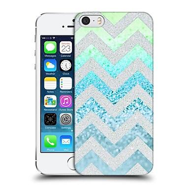 Official Monika Strigel Funky Chevron Tiffany Blue Hard Back Case For Apple Iphone 5 / 5S / Se