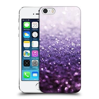 Official Monika Strigel Frozen Glitter Purple Hard Back Case For Apple Iphone 5 / 5S / Se