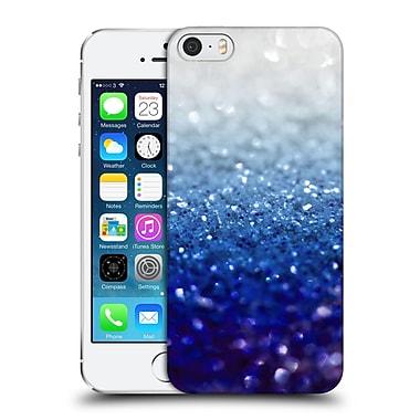 Official Monika Strigel Frozen Glitter Royal Blue Hard Back Case For Apple Iphone 5 / 5S / Se